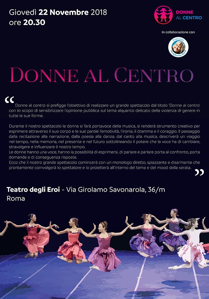 Donne al Centro Teatro degli Eroi